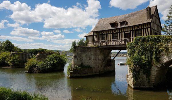 Vieux moulin Vernon Normandie