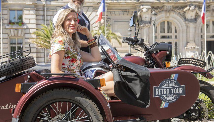 Visite de Tours en Side-car
